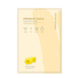 Nature Republic Premium Gold Foil Foot Mask 16ml korean cosmetic skincare shop malaysia singapore indonesia