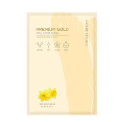 Nature Republic Premium Gold Foil Foot Mask 16ml korean cosmetic skincare shop malaysia singapore indonesia