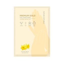 Nature Republic Premium Gold Foil Hand Mask 12ml korean cosmetic skincare shop malaysia singapore indonesia