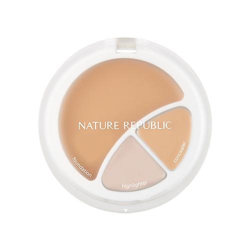 Nature Republic Provence Intense Cover 3 In 1 Strobing Foundation 12g korean cosmetic skincare shop malaysia singapore indonesia