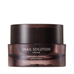 Nature Republic Snail Solution Cream 52ml korean skincare product online shop malaysia china usa