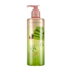 Nature Republic Soothing And Moisture Cactus 92% Soothing Gel 400ml korean cosmetic skincare shop malaysia singapore indonesia