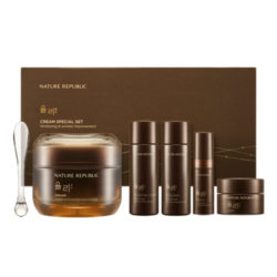 Nature Republic Yuli Night Cream Special Set 60g korean cosmetic skincare shop malaysia singapore indonesia