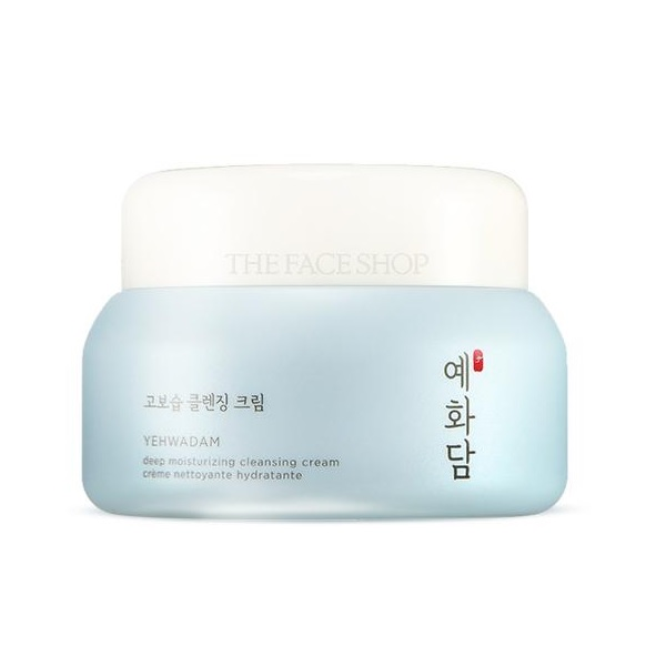 The Face Shop Yehwadam Deep Moisturizing Cleansing Cream korean cosmetic skincare product online shop malaysia china india