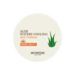 Skinfood Aloe Watery Cooling Sun Cushion SPF50+PA+++13g korean cosmetic skincare shop malaysia singapore indonesia