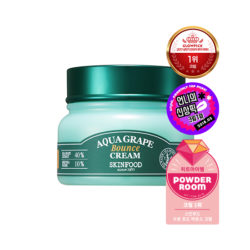 Skinfood Aqua Grape Bounce Cream 60g korean cosmetic skincare shop malaysia singapore indonesia