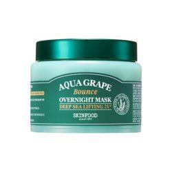 Skinfood Aqua Grape Bounce Overnight Mask 100g korean cosmetic skincare shop malaysia singapore indonesia