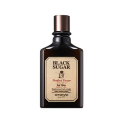 Skinfood Black Sugar Perfect Toner 2X For Men 180ml korean cosmetic skincare shop malaysia singapore indonesia