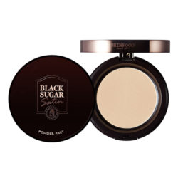 Skinfood Black Sugar Satin Powder Pact 10g korean cosmetic skincare shop malaysia singapore indonesia