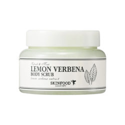 Skinfood Lemon Verbena Body Scrub 320g korean cosmetic skincare shop malaysia singapore indonesia