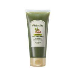 Skinfood Pistachio Nourishing Body Scrub Wash 200g korean cosmetic skincare shop malaysia singapore indonesia