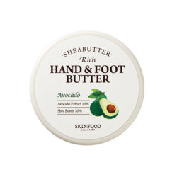 Skinfood Shea Butter Rich Hand And Foot Butter [Avocado] 60ml korean cosmetic skincare shop malaysia singapore indonesia