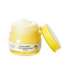 Skinfood Yuja Water C Whitening Ampoule In Cream 2X 63ml korean cosmetic skincare shop malaysia singapore indonesia
