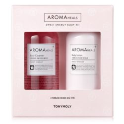 Tony Moly Aroma Heals Sweet Energy Body Kit 600ml korean cosmetic skincare shop malaysia singapore indonesia