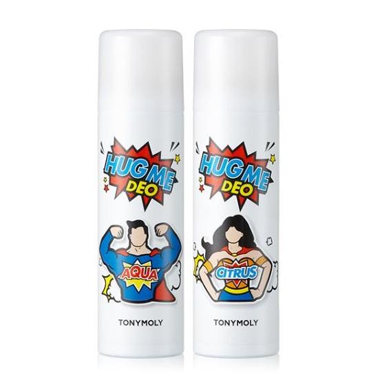 Tony Moly Hug Me Deo Spray 100ml korean cosmetic skincare shop malaysia singapore indonesia