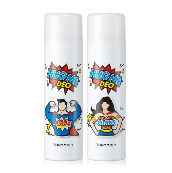 Tony Moly Hug Me Deo Spray 100ml korean cosmetic skincare shop malaysia singapore indonesia