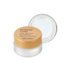 Tony Moly Intense Care Gold 24K Snail Lip Treatment 10g korean cosmetic skincare shop malaysia singapore indonesia