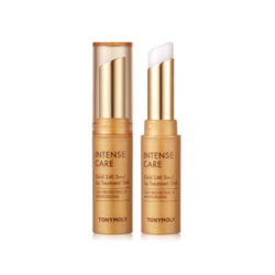 Tony Moly Intense Care Gold 24k Snail Lip Treatment Stick 3.5g korean cosmetic skincare shop malaysia singapore indonesia
