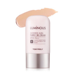 Tony Moly Luminous Goddness Aura Fabric BB Cream SPF50+PA+++ 40g korean cosmetic skincare shop malaysia singapore indonesia