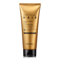 Tony Moly Personal Hair Moisture Wave Lotion 200ml korean cosmetic skincare shop malaysia singapore indonesia