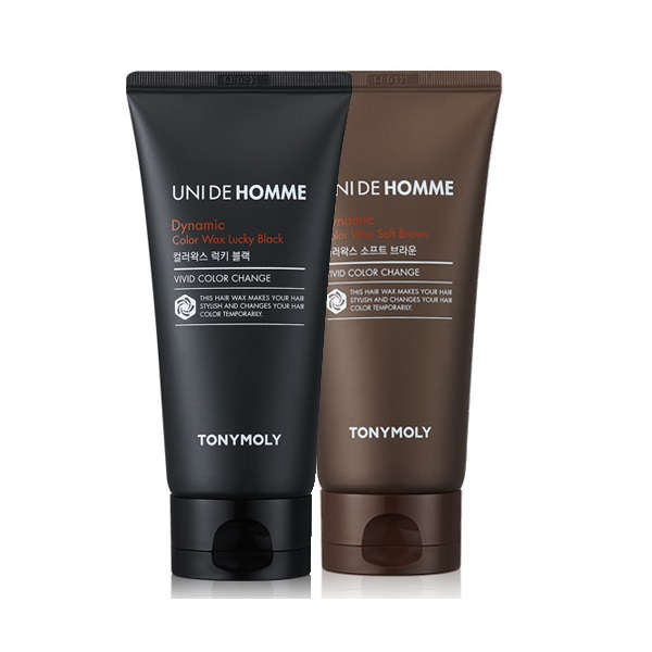 Tony Moly Uni De Homme Dynamic Color Wax 100g korean cosmetic skincare shop malaysia singapore indonesia