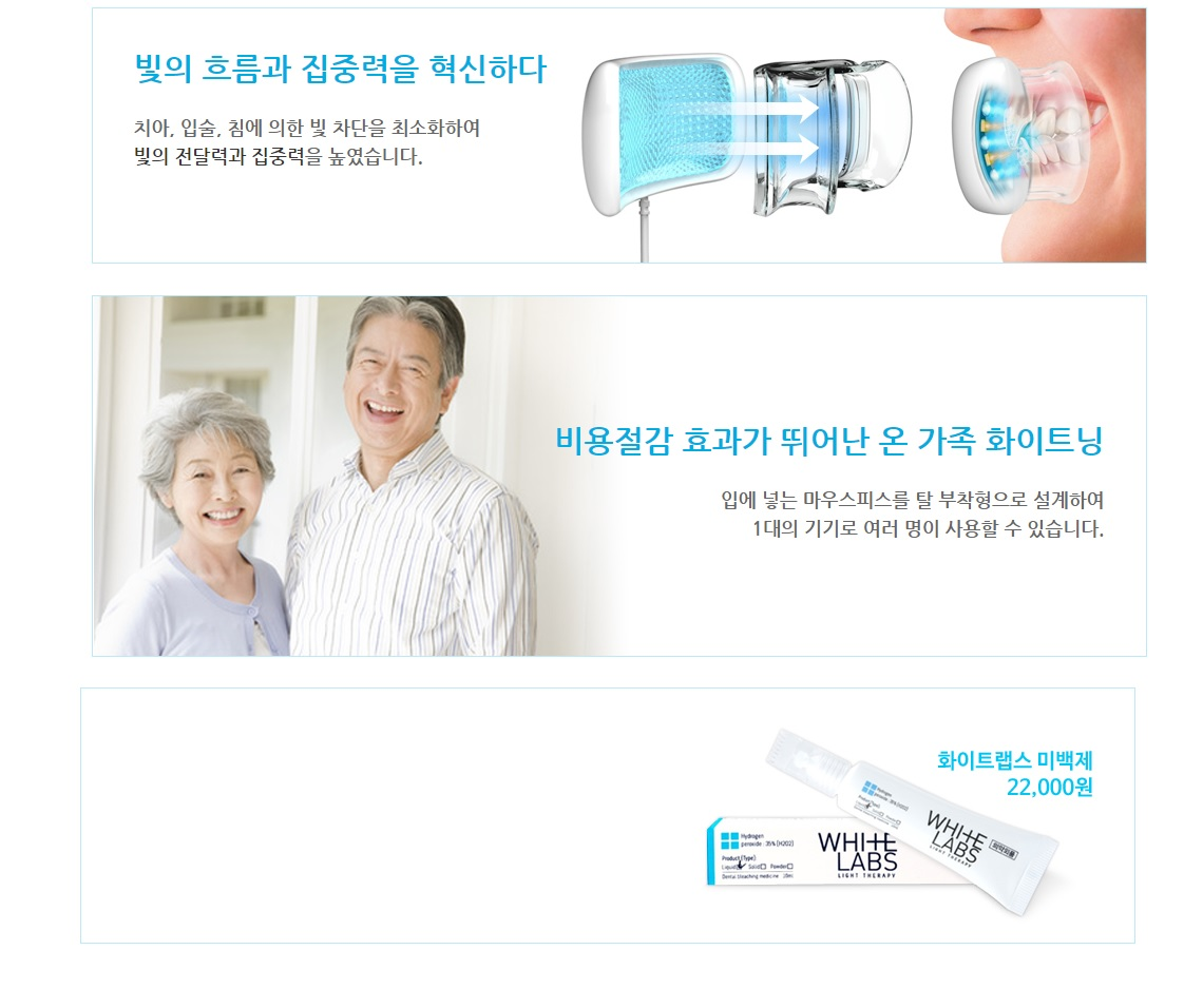 White Lab Teeth Whitening 300g korean Beauty Accessories product online shop malaysia China India2