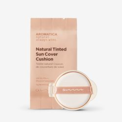 Aromatica Natural Tinted Sun Cover Cushion Refill korean cosmetic skincare product online shop malaysia mexico nepal