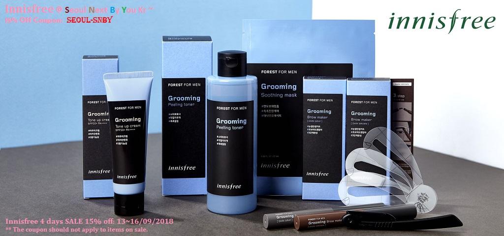 Innisfree coupon promotion 2018 KOREA cosmetic beauty malaysia canada australia saudi arabia
