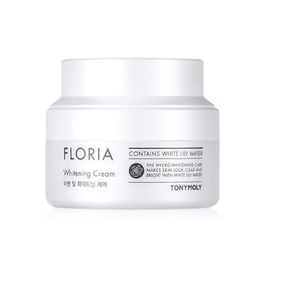 Tony Moly Floria Whitening Cream 50ml korean cosmetic skincare shop malaysia singapore indonesia
