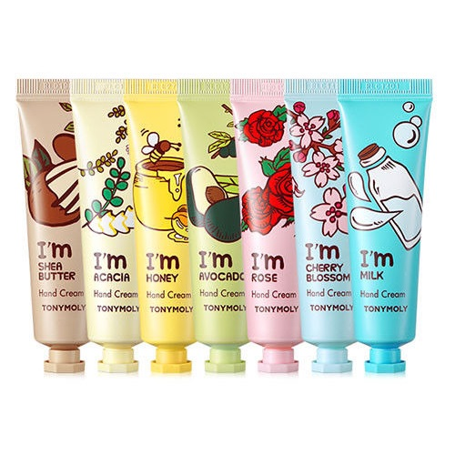 Tony Moly I'm Hand Cream 30ml korean cosmetic skincare shop malaysia singapore indonesia