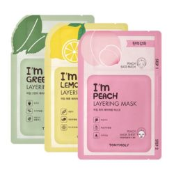 Tony Moly I'm Layering Mask 23g korean cosmetic skincare shop malaysia singapore indonesia