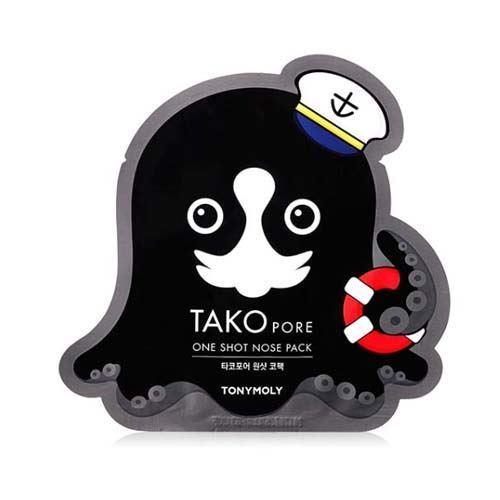 Tony Moly Tako Pore One Shot Nose Pack 1.5g korean cosmetic skincare shop malaysia singapore indonesia