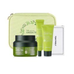 Tony Moly The Chok Chok Green Tea Safe Moisture Set 140ml korean cosmetic skincare shop malaysia singapore indonesia