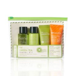 Tony Moly The Chok Chok Green Tea Travel Kit 190ml korean cosmetic skincare shop malaysia singapore indonesia