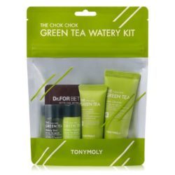 Tony Moly The Chok Chok Green Tea Watery Kit 65ml korean cosmetic skincare shop malaysia singapore indonesia