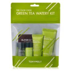 Tony Moly The Chok Chok Green Tea Watery Kit 65ml korean cosmetic skincare shop malaysia singapore indonesia