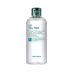Tony Moly The Tea Tree No Wash Cleansing Water 300ml korean cosmetic skincare shop malaysia singapore indonesia