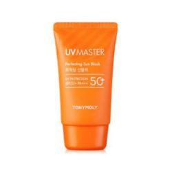 Tony Moly UV Master Perfecting Sun Block SPF50+PA+++ 50ml korean cosmetic skincare shop malaysia singapore indonesia