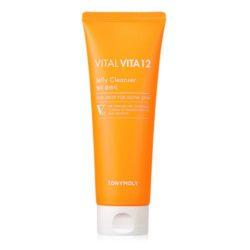 Tony Moly Vital Vita 12 Jelly Cleanser 150ml korean cosmetic skincare shop malaysia singapore indonesia