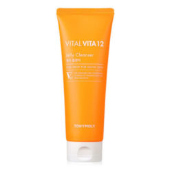 Tony Moly Vital Vita 12 Jelly Cleanser 150ml korean cosmetic skincare shop malaysia singapore indonesia