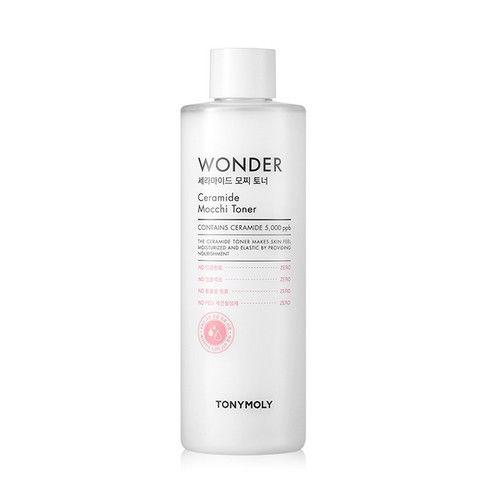 Tony Moly Wonder Ceramide Mocchi Toner 500ml korean cosmetic skincare shop malaysia singapore indonesia