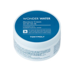 Tony Moly Wonder Water Moisture Cream 300ml korean cosmetic skincare shop malaysia singapore indonesia