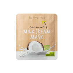 too cool for school Coconut Milk Cream Mask 50g korean cosmetic skincare shop malaysia singapore indonesia