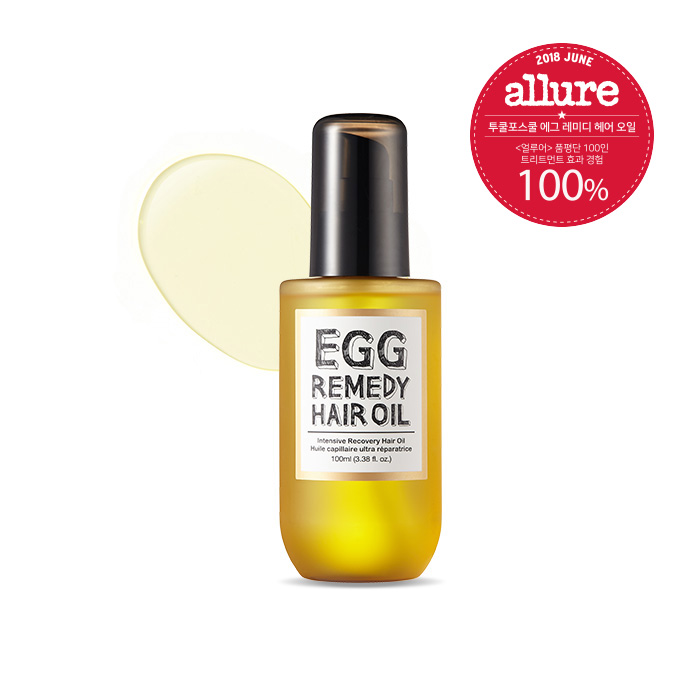 too cool for school Egg Remedy Hair Oil 100ml korean cosmetic skincare shop malaysia singapore indonesia