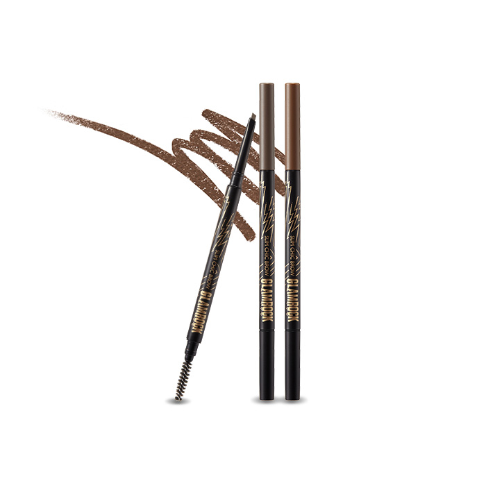 too cool for school Glam Rock Slim Chic Brow 0.05g korean cosmetic skincare shop malaysia singapore indonesia