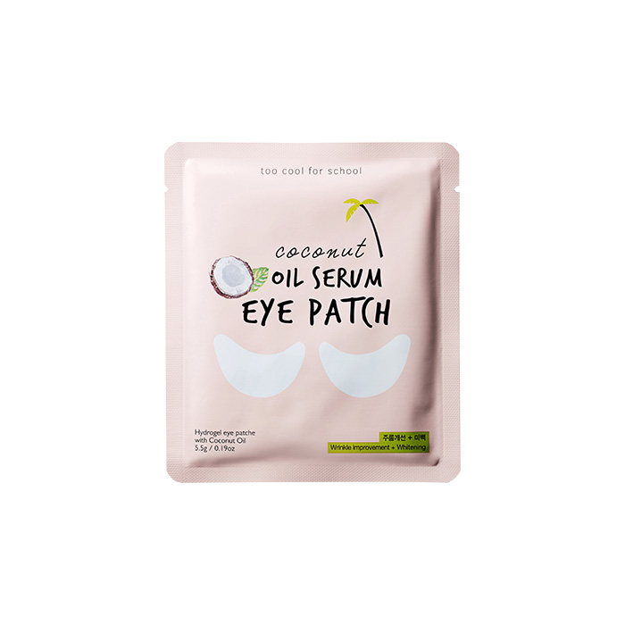 too cool for school Oil Serum Eye Patch 5.5g korean cosmetic skincare shop malaysia singapore indonesia