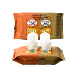 too cool for school Pumpkin Hydra And Peeling Duo Pad 164g korean cosmetic skincare shop malaysia singapore indonesia