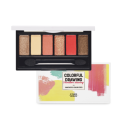 Etude House Colorful Drawing Fantastic Color Eyes 100g korean cosmetic skincare shop malaysia singapore indonesia