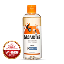 Etude House Monster Oil In Cleansing Water 480ml korean cosmetic skincare shop malaysia singapore indonesia