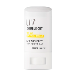 Etude House UV Double Cut Clear Sun Stick SPF 50+ PA++++ 20g korean cosmetic skincare shop malaysia singapore indonesia